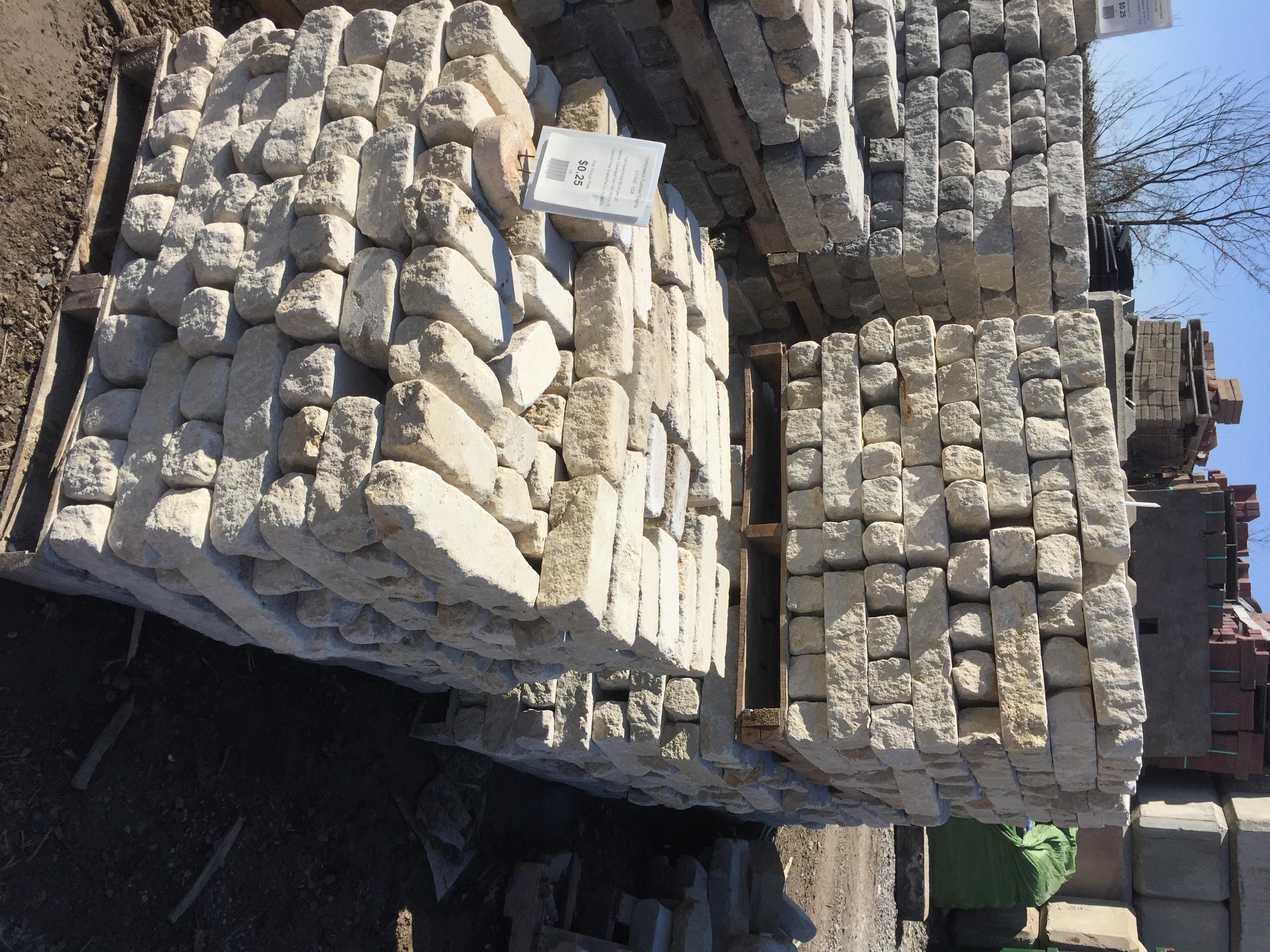 Cottonwood Tumbled Edging