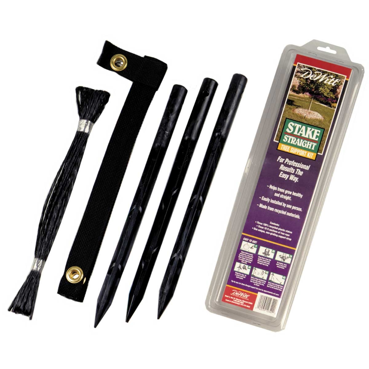 DeWitt Stake Straight Tree Support Kit