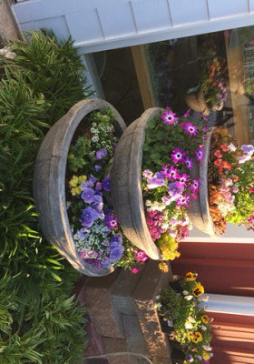 Annual and Perennial Combination Planter